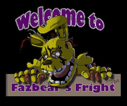 Fazbear S Fright Logo By Ladyfiszi Fnaf Fnaf Art Purple Guy
