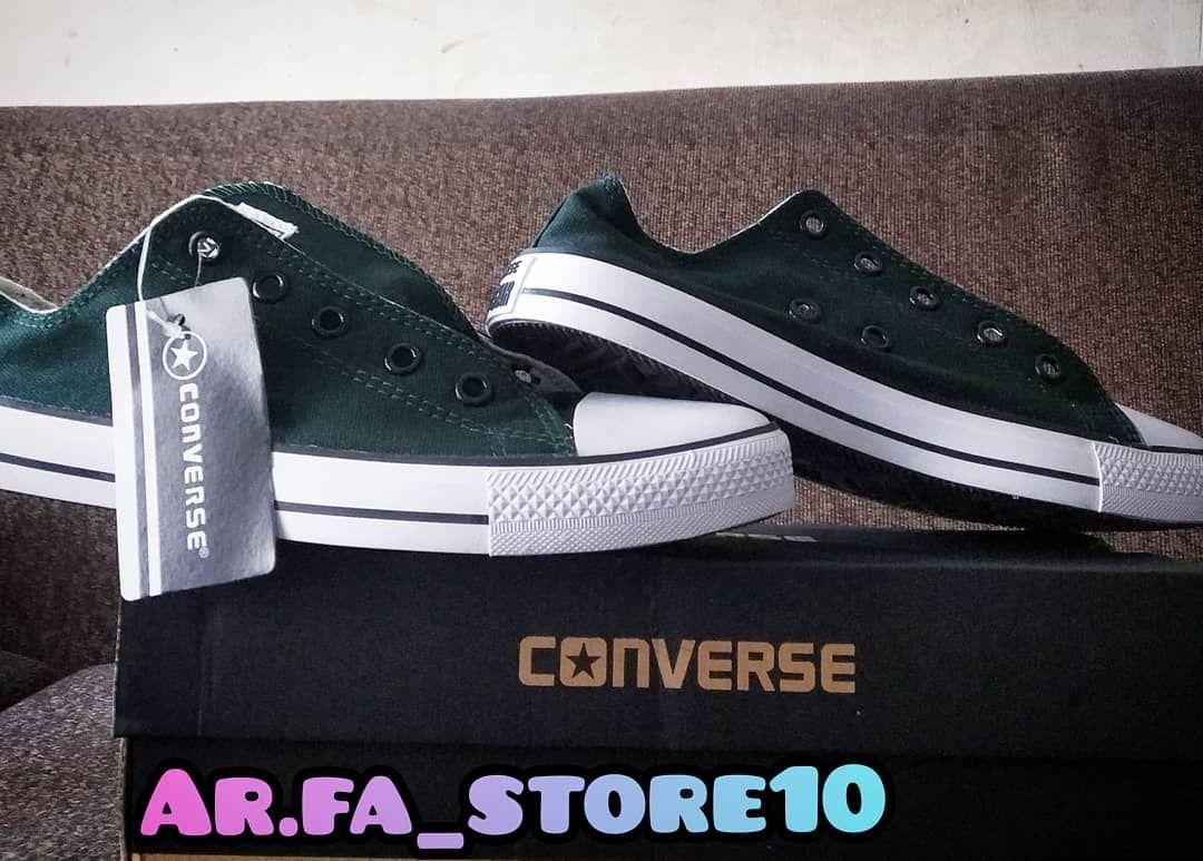Converse All Star Hijau Army Premium Harga Promo 115 000