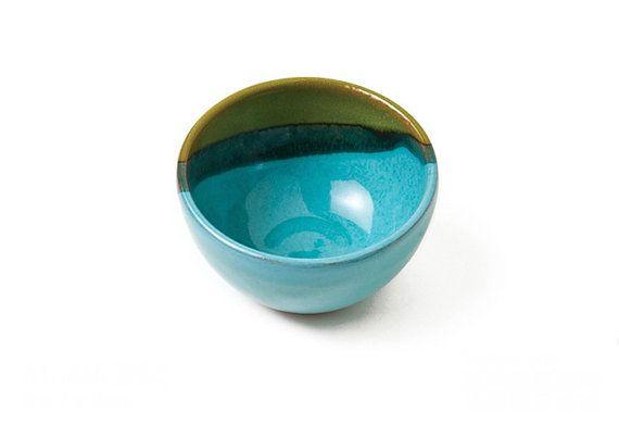 Handmade Ceramic Bowl Sauce Bowl Salsa Bowl by thestonewarepottery