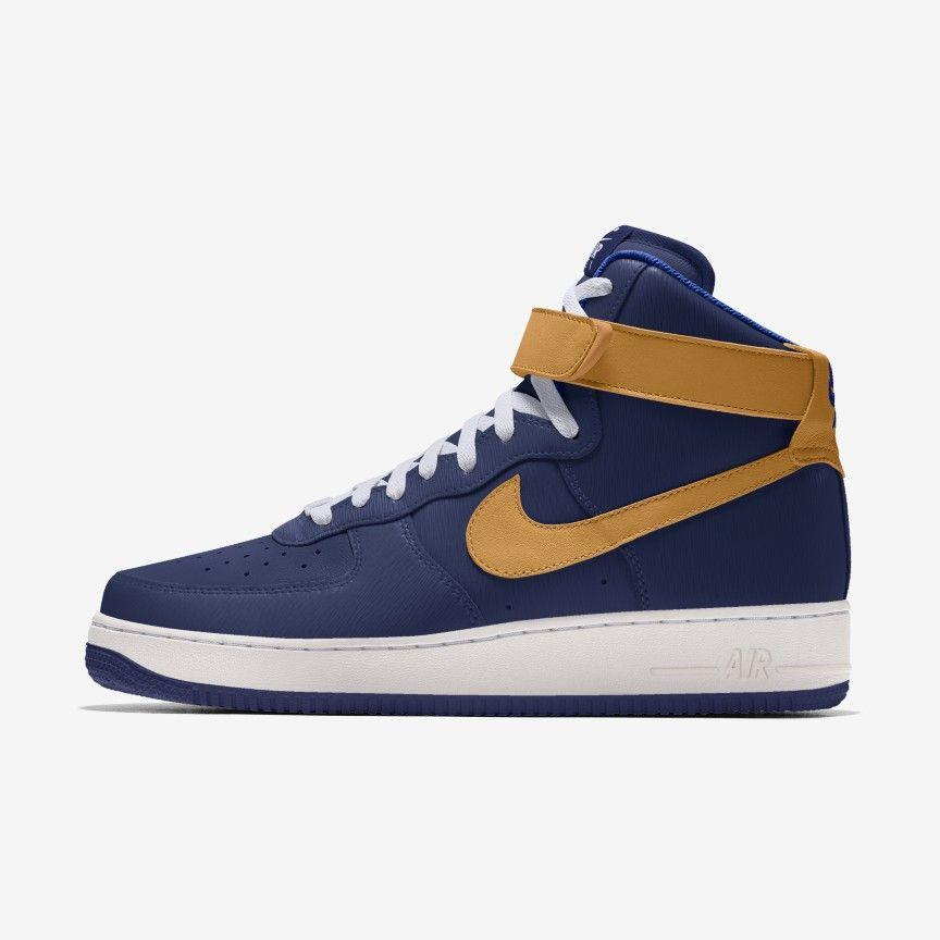 Męskie personalizowane buty Nike Air Force 1 High By You