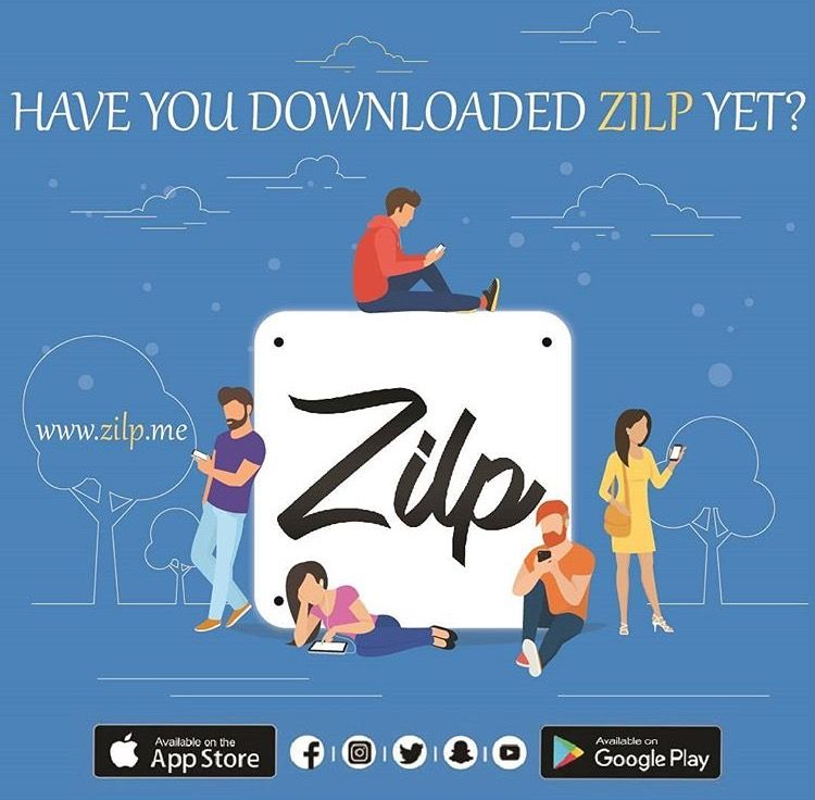 Have you downloaded Zilp yet? Invite your friends and
