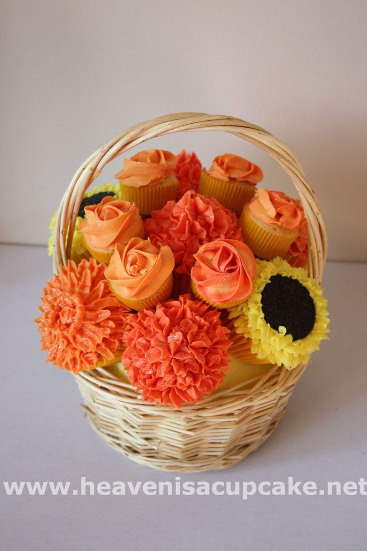 Pin by meeelena on cupcake bouquet pinterest beautiful fall or spring cupcake bouquet izmirmasajfo Image collections