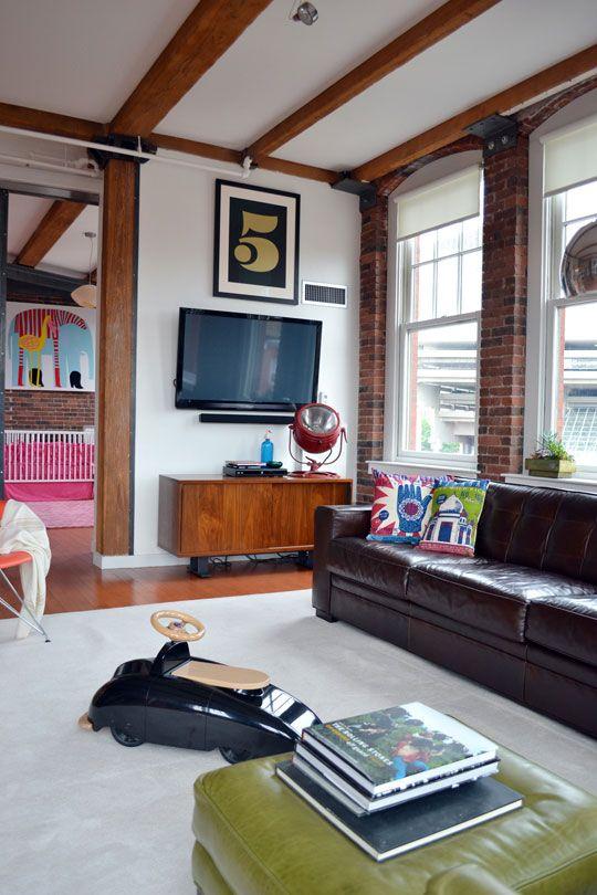 Alexandra & John / Apartment Therapy