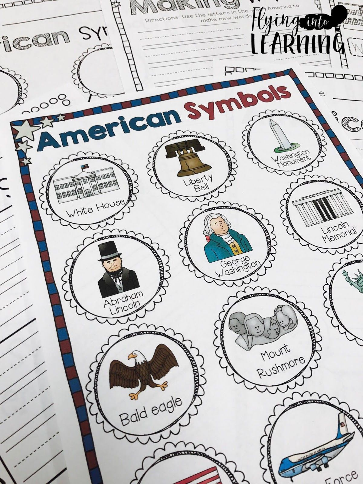 Teaching Ideas For American Symbols