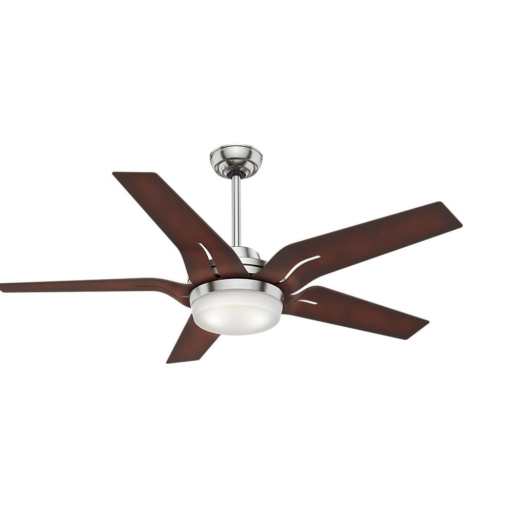 The 56 Casablanca Correne Is Inspired By Scandinavian Interior Design Specifically The Mid Century Ceiling Fan With Remote Ceiling Fan Ceiling Fan Light Kit