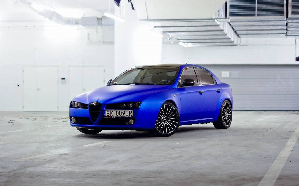 Alfa Romeo 159 Blue Aluminium Mat 190 Km 1 9 Jtd 6289988712 Oficjalne Archiwum Allegro Alfa Romeo 159 Alfa Romeo Romeo