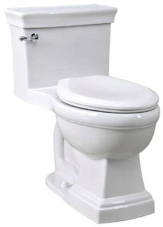 Awesome Julian One Piece Elongated Chair Height Toilet With Soft Beatyapartments Chair Design Images Beatyapartmentscom
