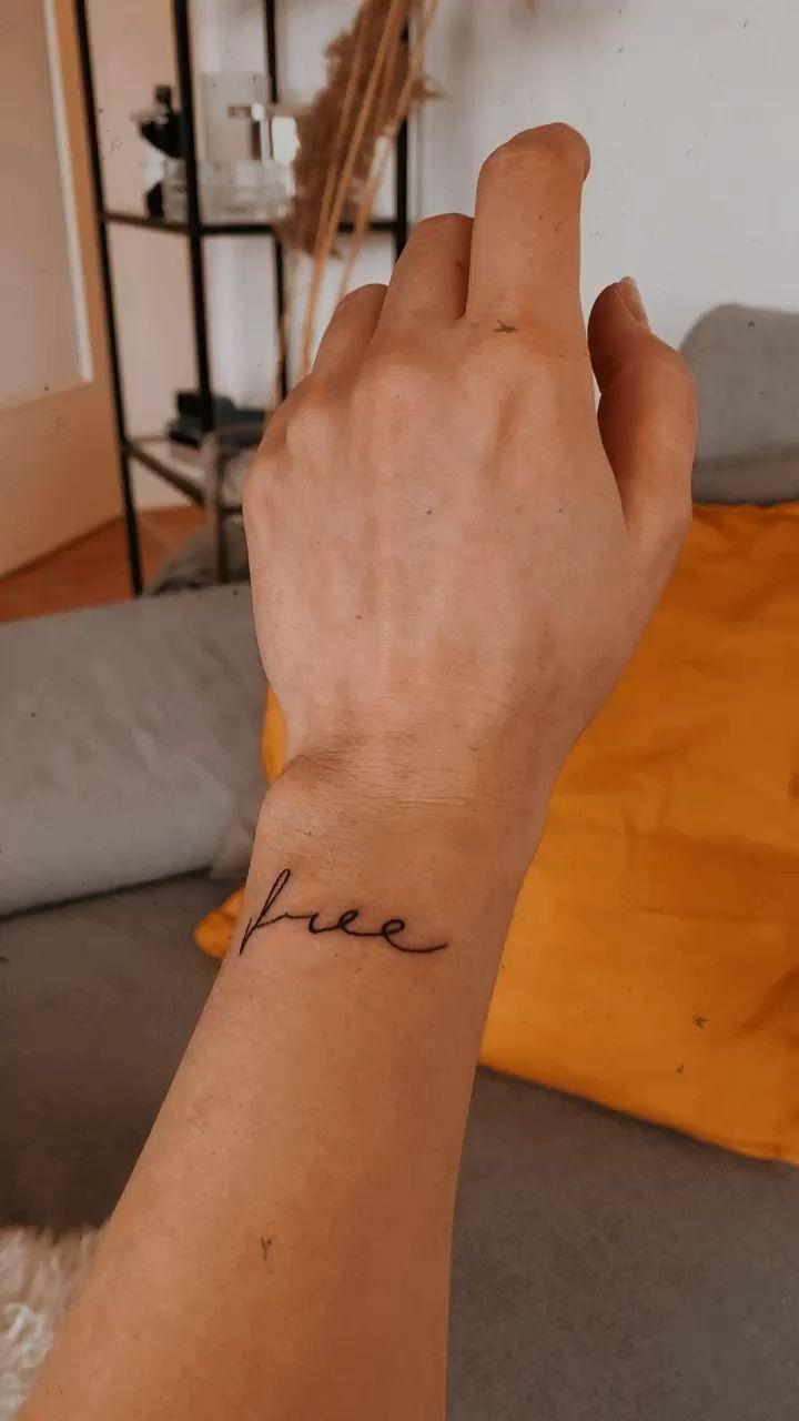 Tattoo Handgelenk Free