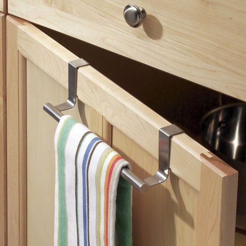 Superieur Stainless Steel Over Cabinet Towel Bar