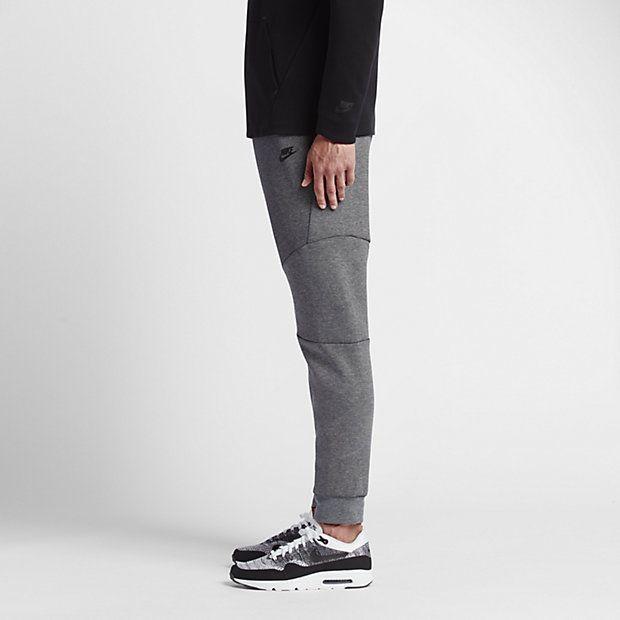c82ff532dc7c Nike Sportswear Tech Fleece Men s Joggers Style  805162-091 (Carbon Heather Cool  Grey Black
