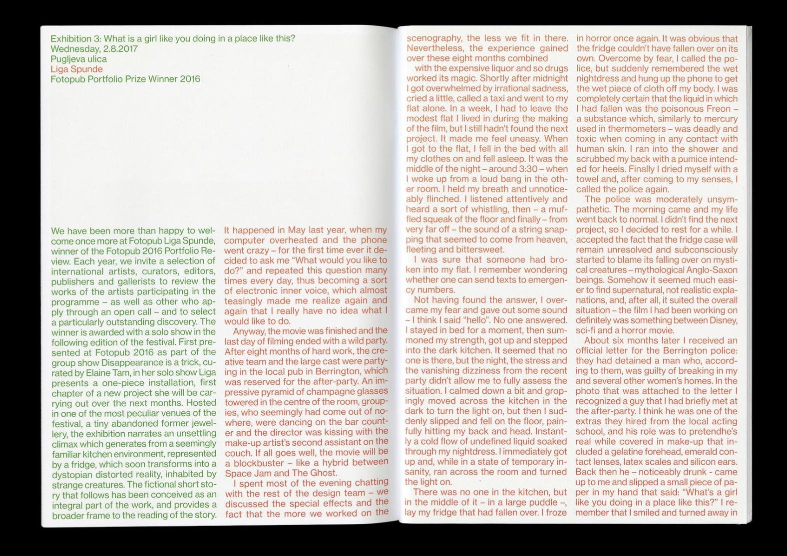Nejc Prah Conference Design Communication Department Printed Pages