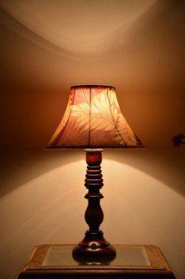 Yashasvi Wooden Table Lamp Lamp00i15 Multi Colour Table Lamps
