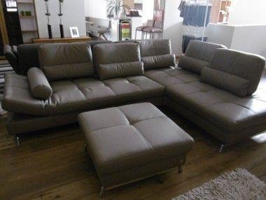 Wohnzimmer Hocker ~ Joop! #sofa loft in #leder #eckgarnitur #wohnzimmer #hocker