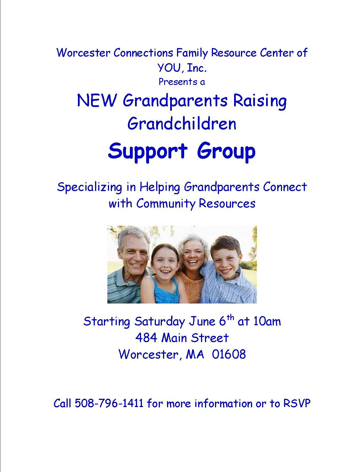 Grandparents Raising Grandchildren June 6th | Community