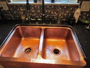 prevent tarnish watermarks and patina on my copper sink this is definitely worth a
