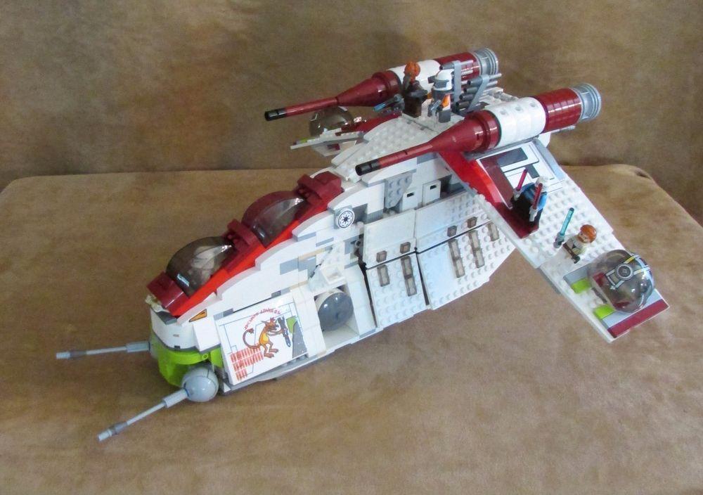 7676 Lego Complete Star Wars The Clone Wars Republic Attack