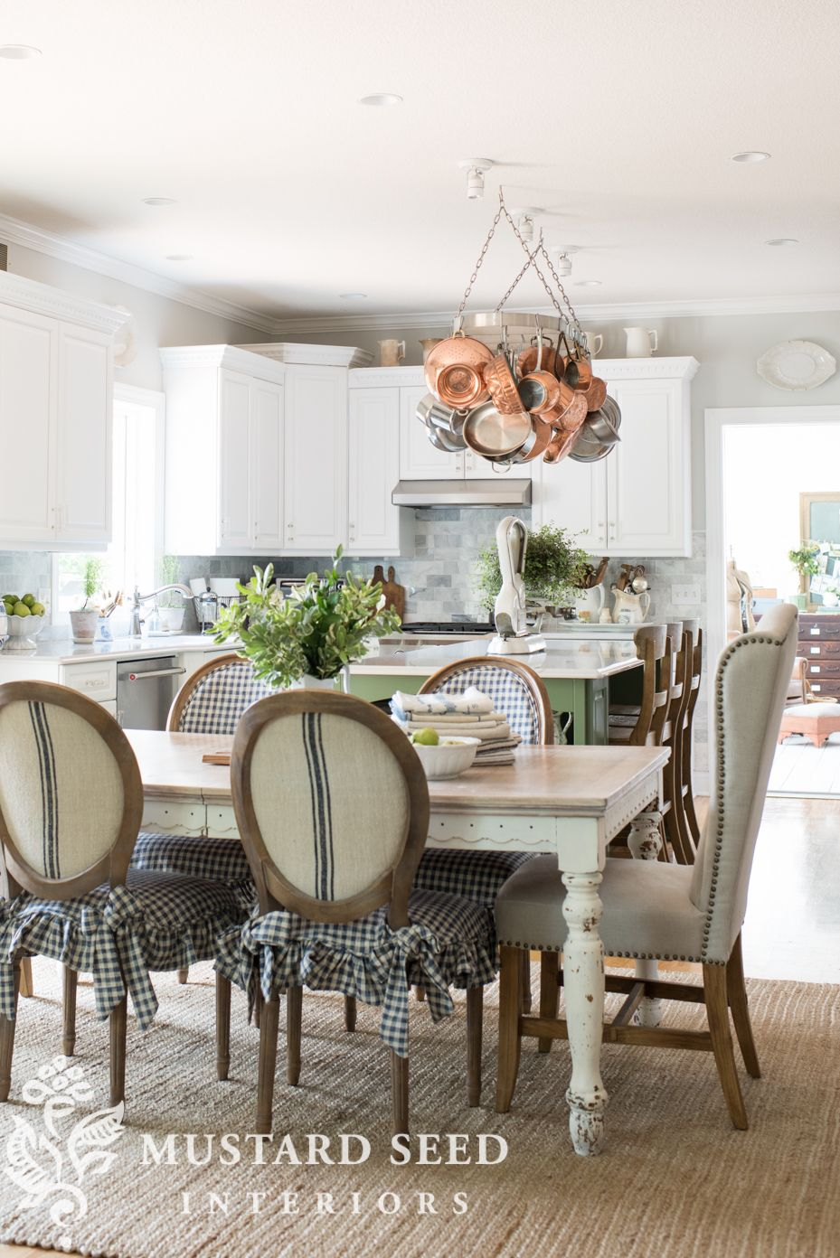 Kitchen Table End Chairs Dining Room Spiration Green Kitchen