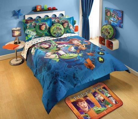 Edredón Toy Story Espacial #Decoracion #Recamara #Niños #ToyStory
