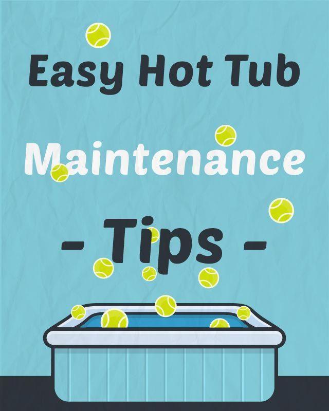 A Beginner's Guide to Hot Tub Maintenance #hottubdeck