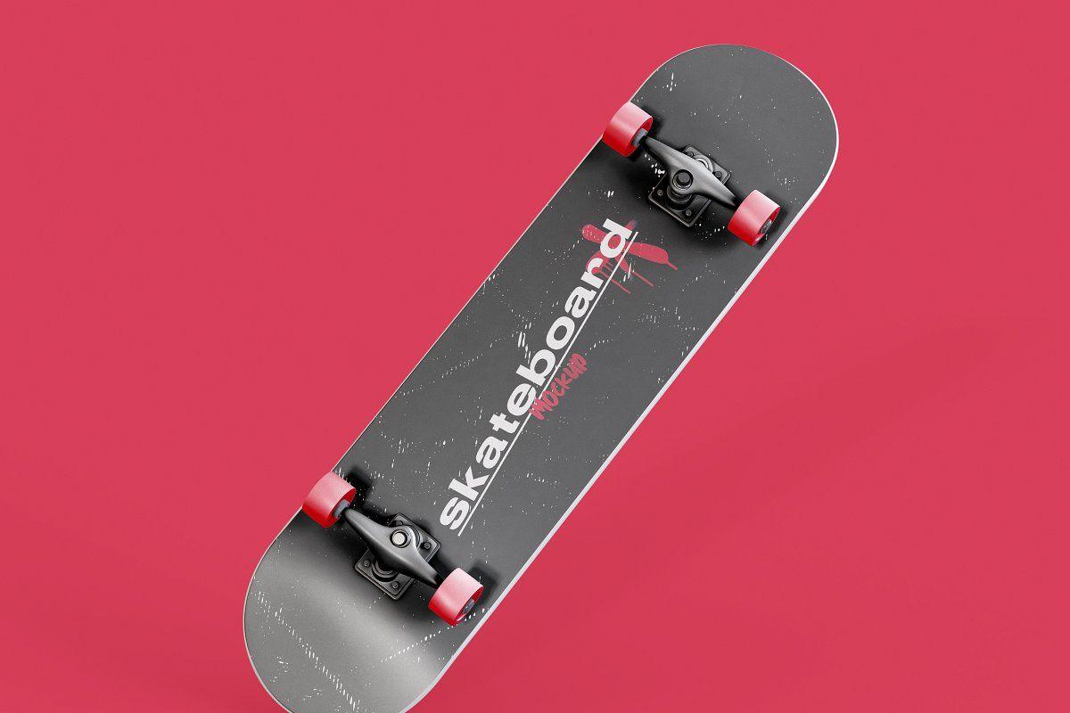 Skateboard Mockup Sponsored Isolated Background Skateboard Mockup Skateboard Photoshop Editing Photoshop