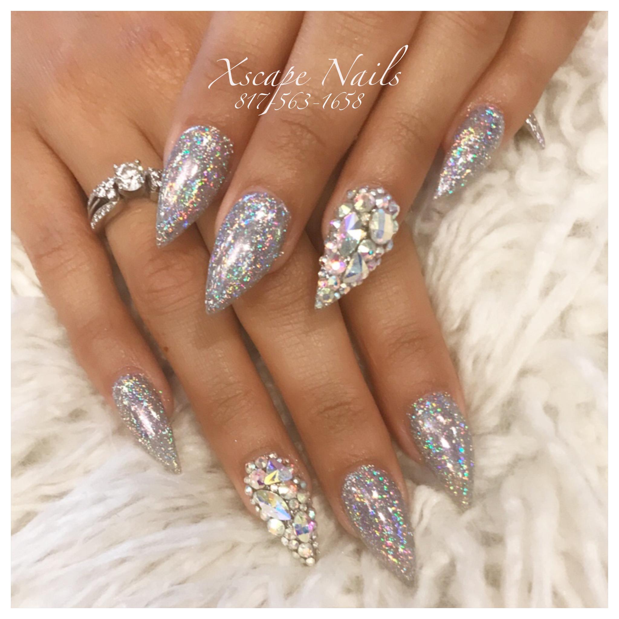 Galaxy chrome nails | Cute Nails Designs | Pinterest | Chrome nails ...