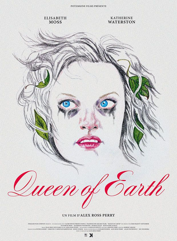 Queen of Earth (Alex Ross Perry, 2015) One sheet design