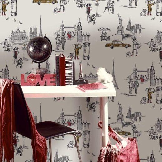 Home Nousdecor Quirky Wallpaper Decor Room Wallpaper