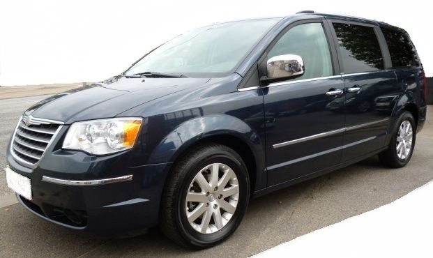2009 Chrysler Grand Voyager 2 8 Crd Limited Automatic 7 Seater Mpv