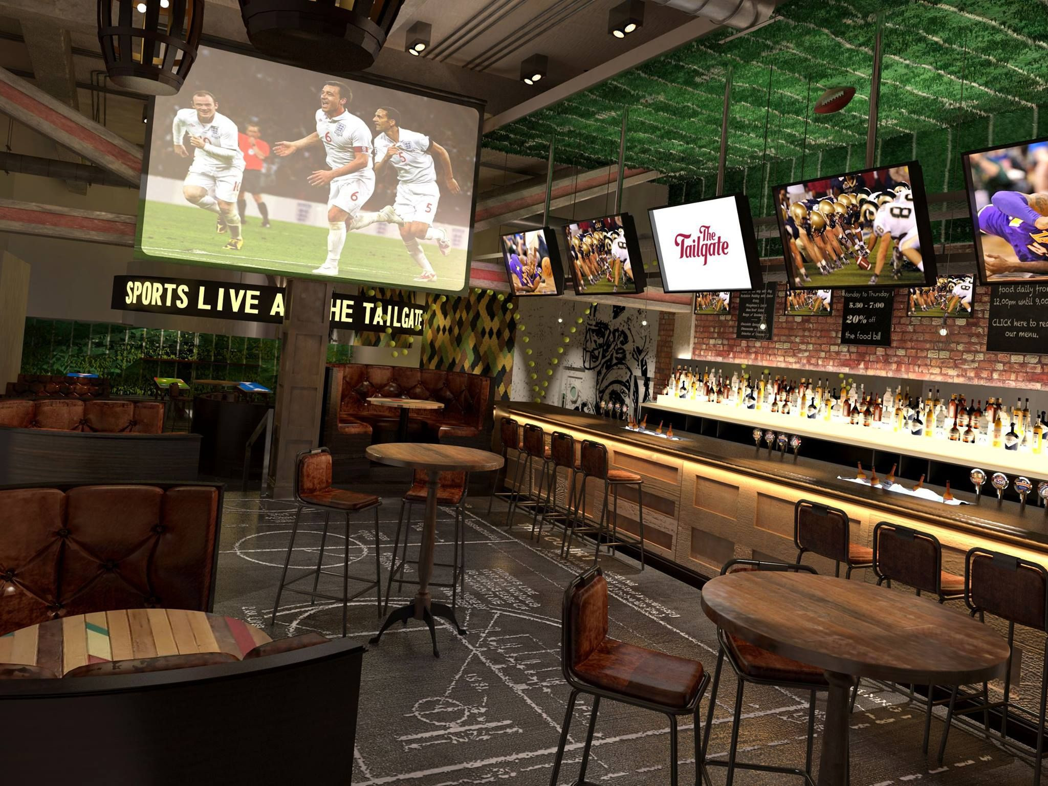 Sports bar google search bar sport bar design bar - Interior furniture warehouse buffalo ny ...