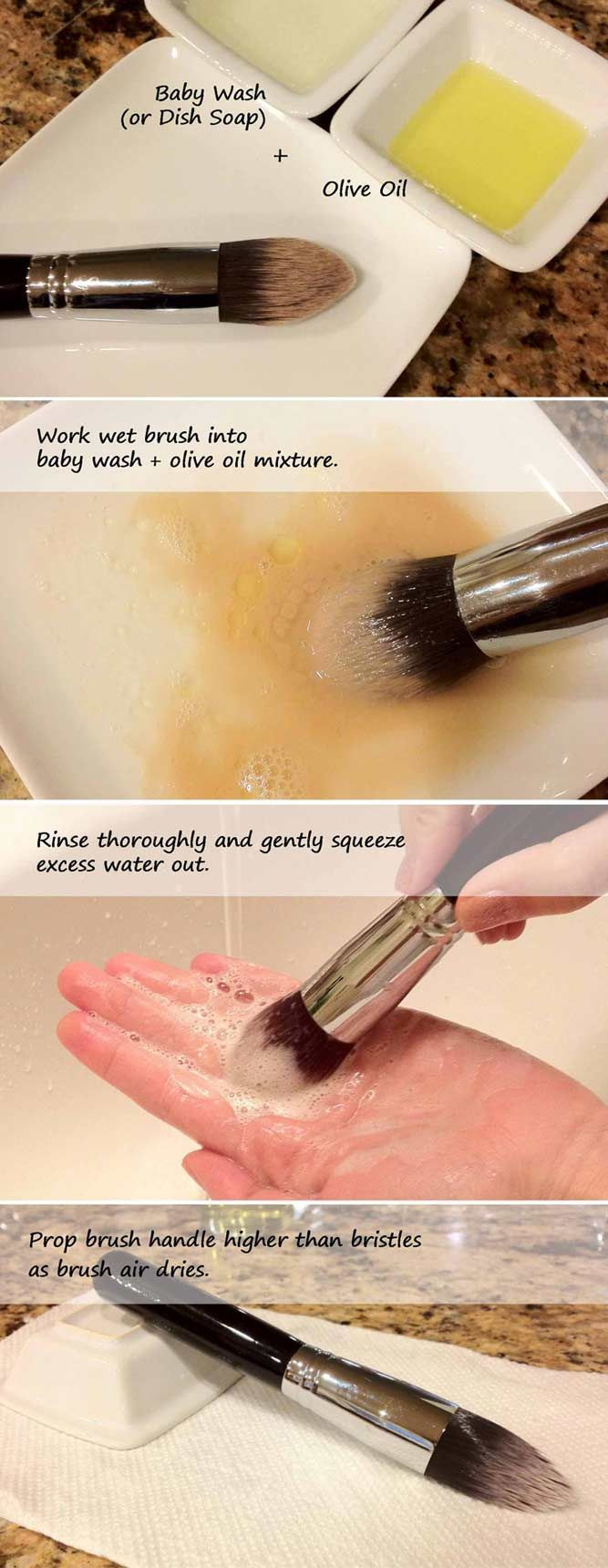 Do you still wonder how to clean makeup brushes and