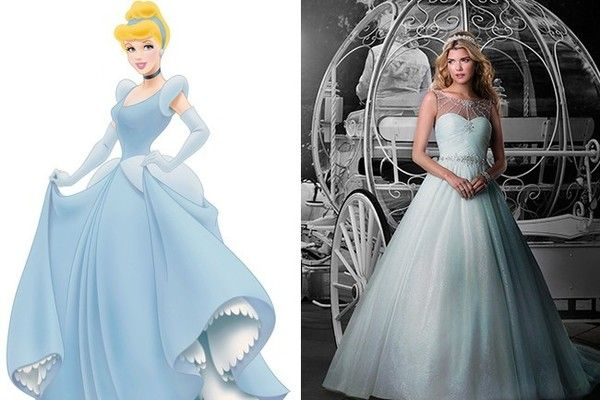 Wedding Dress Inspiration Fit For A Disney Princess Inspired Cinderella Beautiful