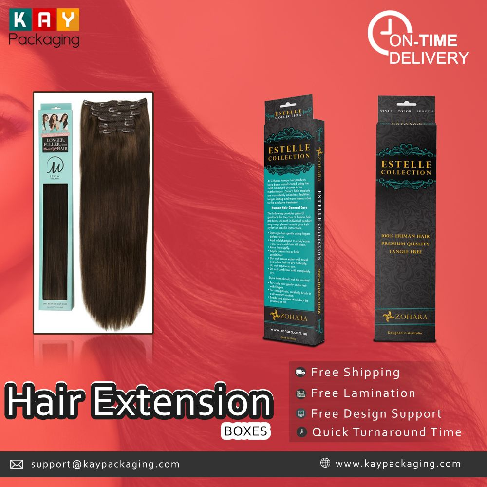 Are You Searching For Custom Printed Hair Extension Boxes At