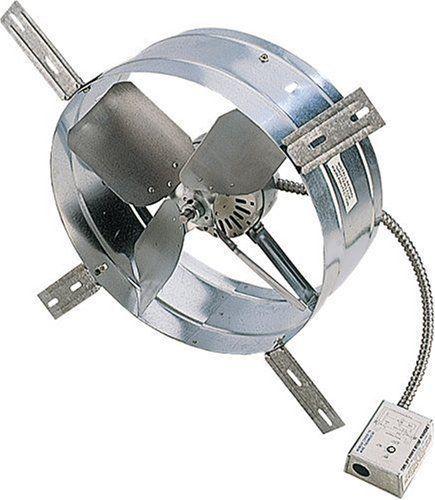 Garage Fan Gable Vent Attic W Thermostat 115 Volt Motor Easy Installation New Attic Exhaust Fan Attic Fan Fan