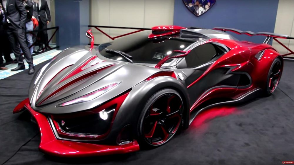 Meet Inferno Exotic Car 1 400bhp 0 62mph In 3 Seconds And A
