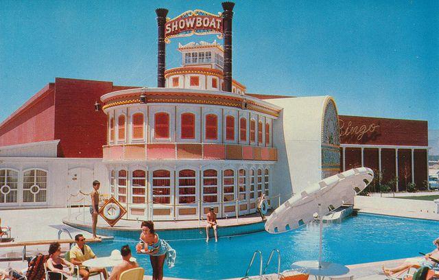 The Showboat Hotel Las Vegas Nevada Las Vegas Hotels Old