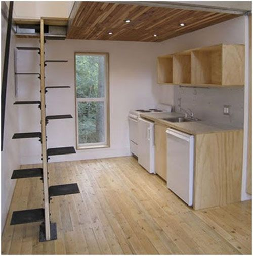 7 creativas escaleras de dise o lofts tiny houses and house - Decoracion de escaleras ...