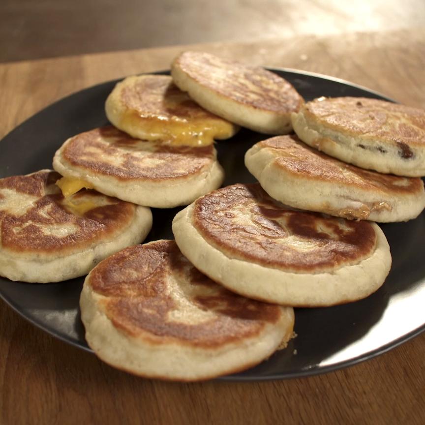 Hotteok | Recipe | Breakfast and Brunch Recipes in 2019 ... Hoddeok Recipe