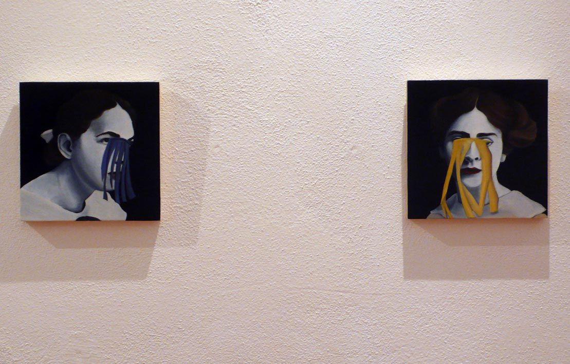 Il buco dentro agli occhi o il punto dietro la testa / Fusignano RA Museo civico San Rocco / 30 novembre 2014 - 25 gennaio 2015 / Silvia Idili