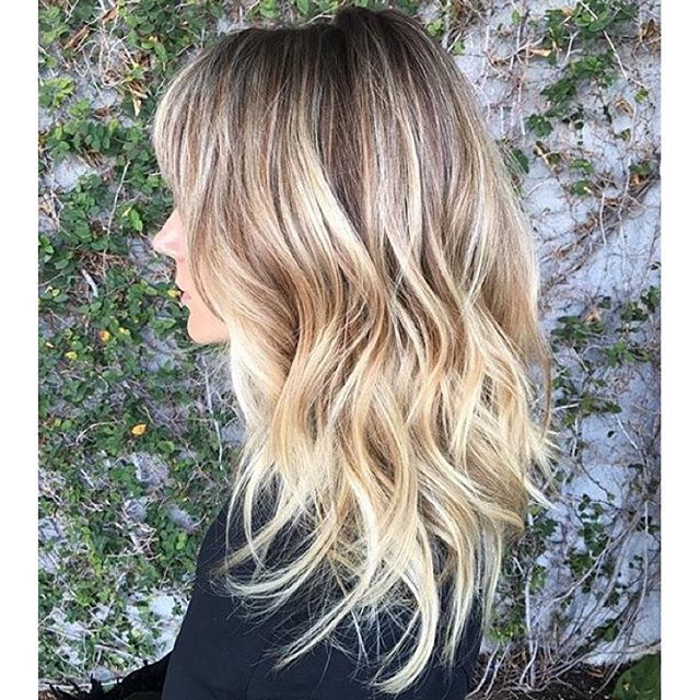 Champagne Blonde Sombre Hair Pinterest