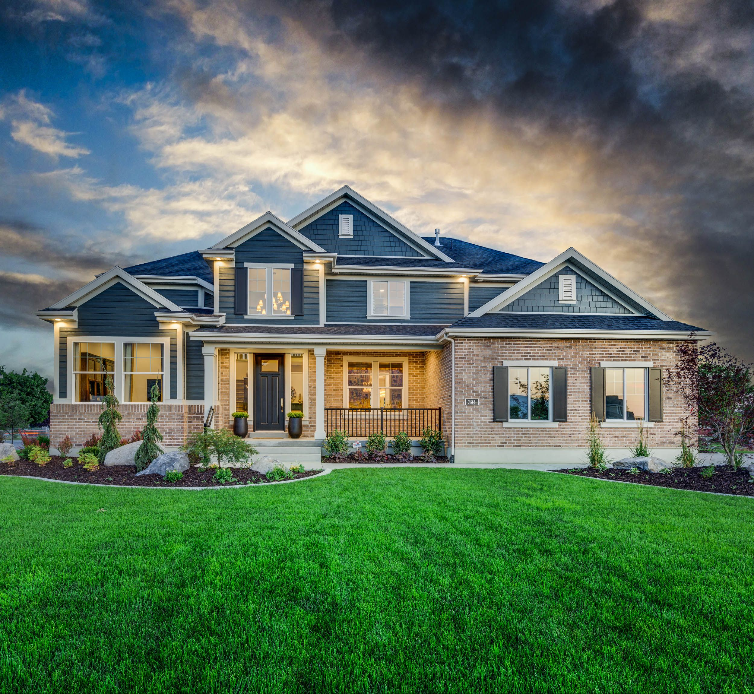 The Hanover Traditional Ivoryhomes Custom Built Homes Model New Home Designs