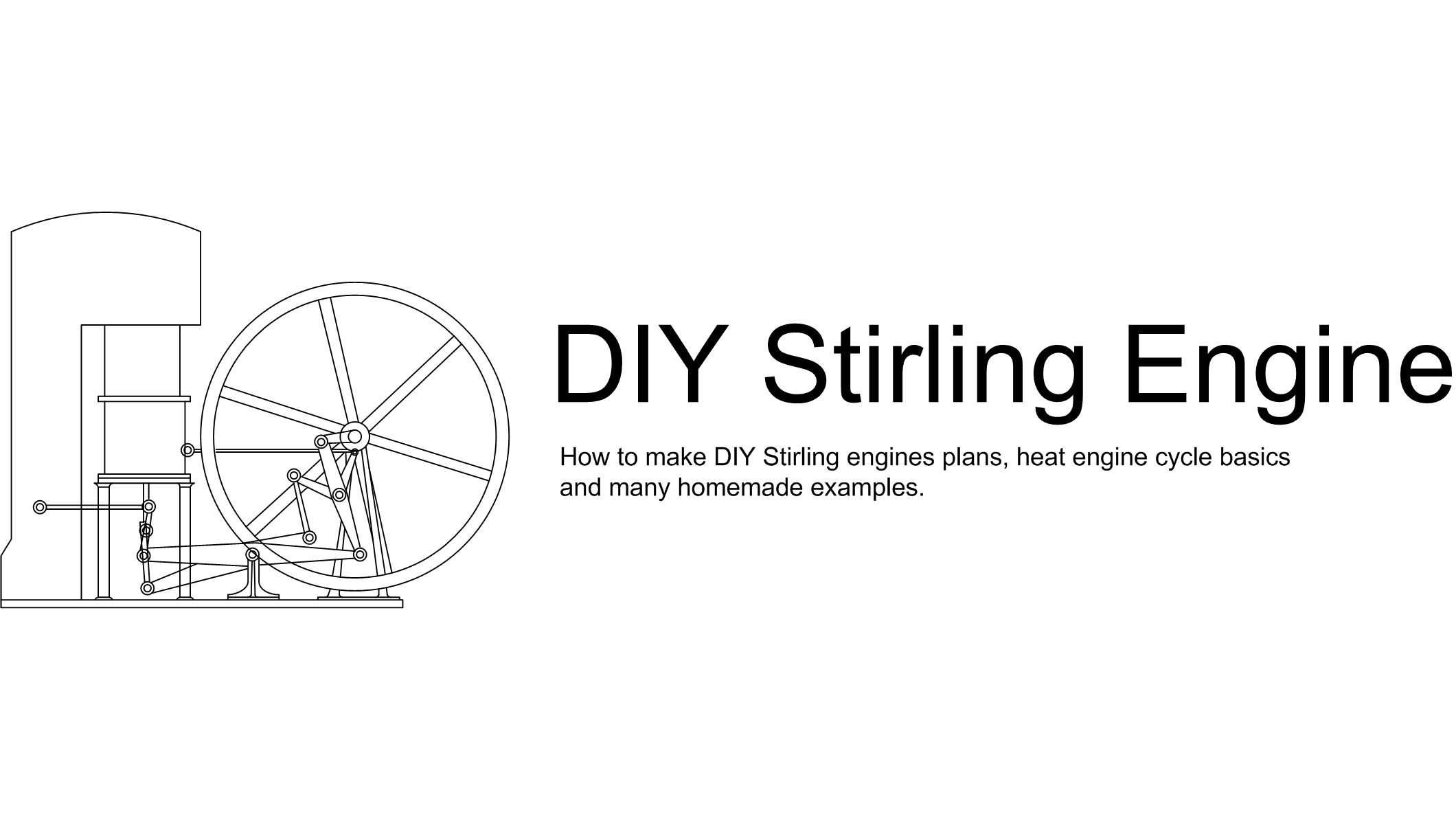 http://diystirlingengine.com/ Site header #StirlingEngine