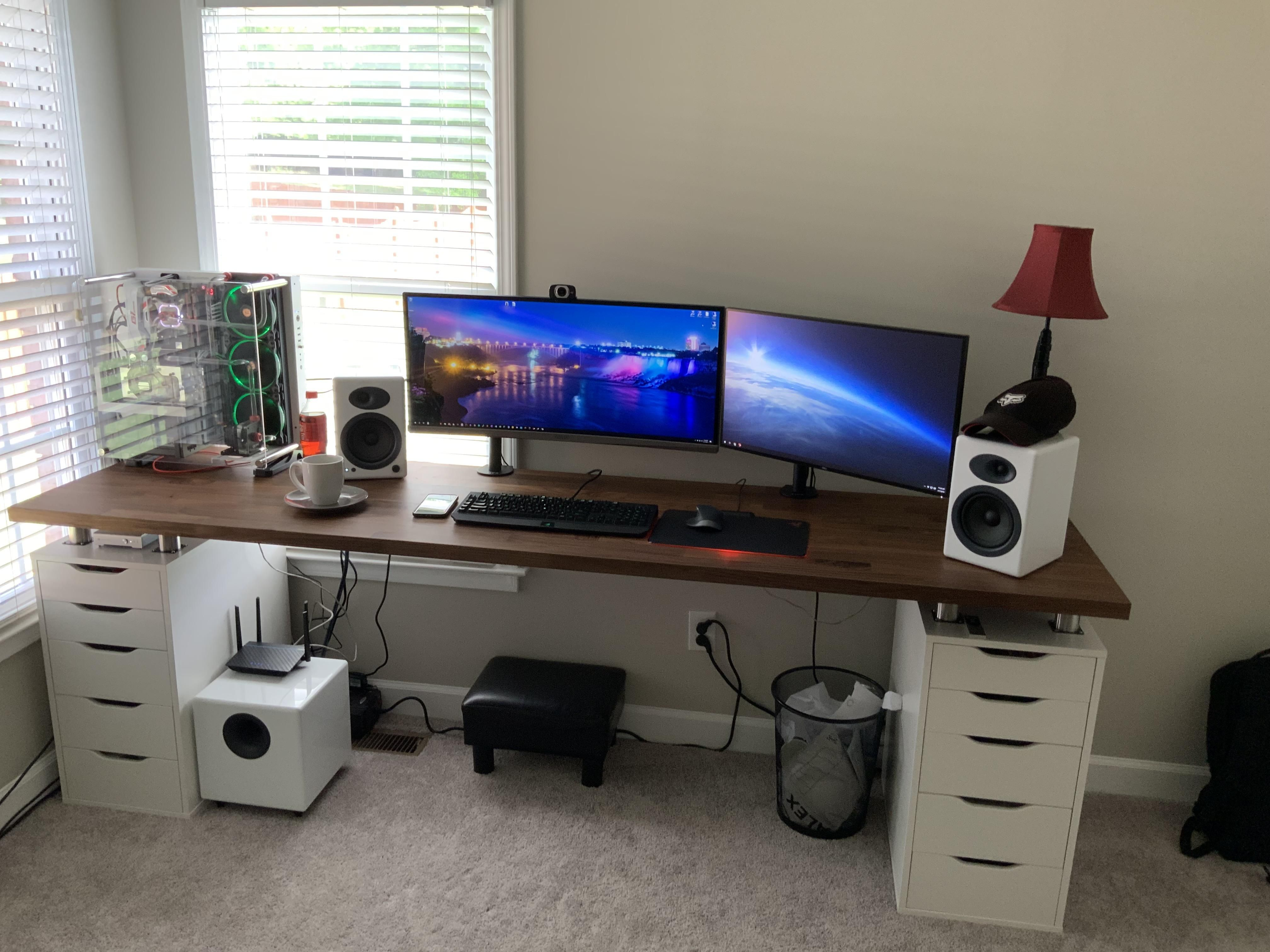 Had To Join The Ikea Club Cable Management Coming Soon Unique Desks Ikea Cable Management