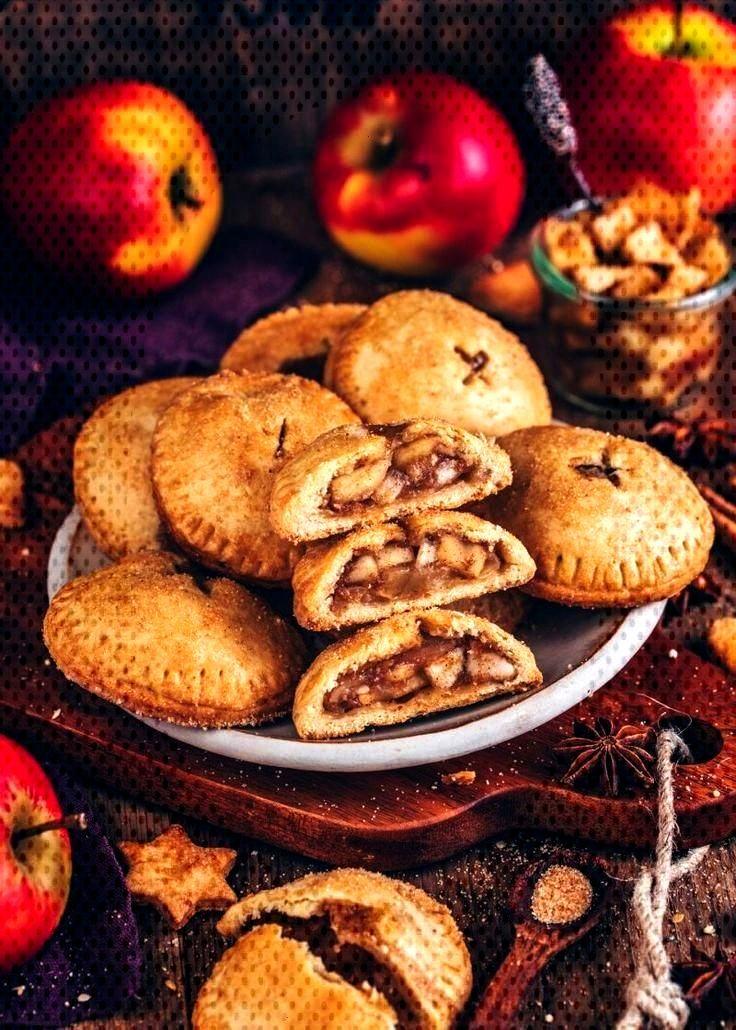 Apfel Hand Pies (vegane Mini-Apfelkuchen) - Bianca Zapatka | Rezepte - Apfel - Rezepte und mehr -