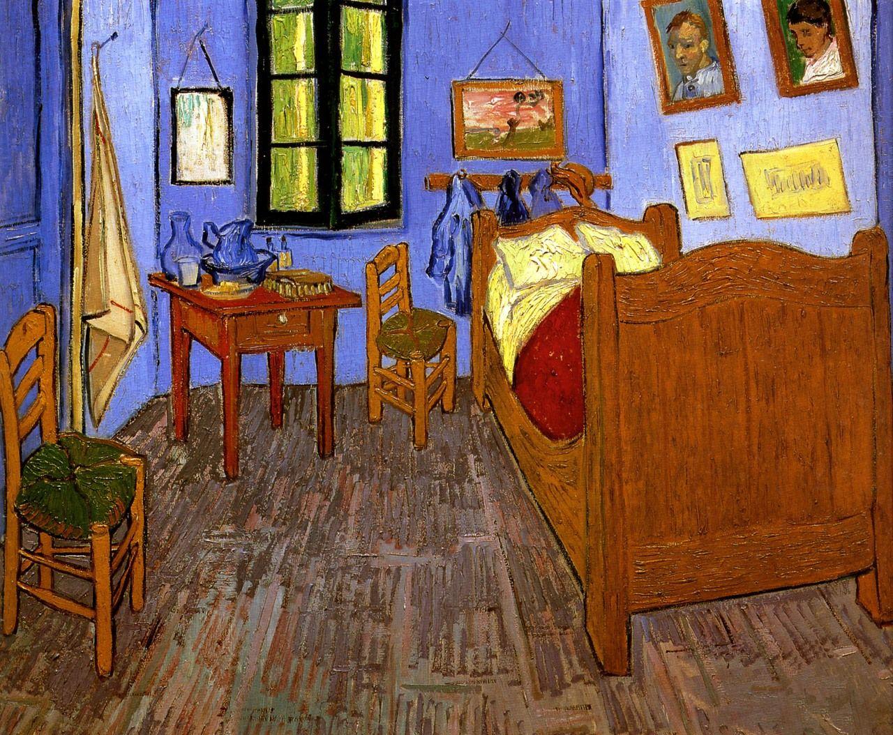 Bedroom at Arles Vincent van gogh art, Van gogh art