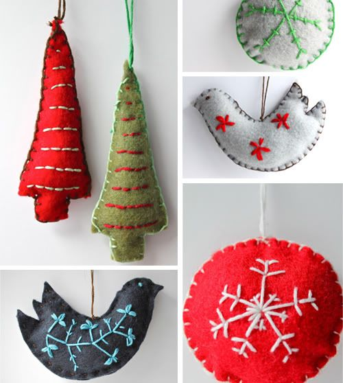 DIY: Charming Fabric Christmas Ornaments