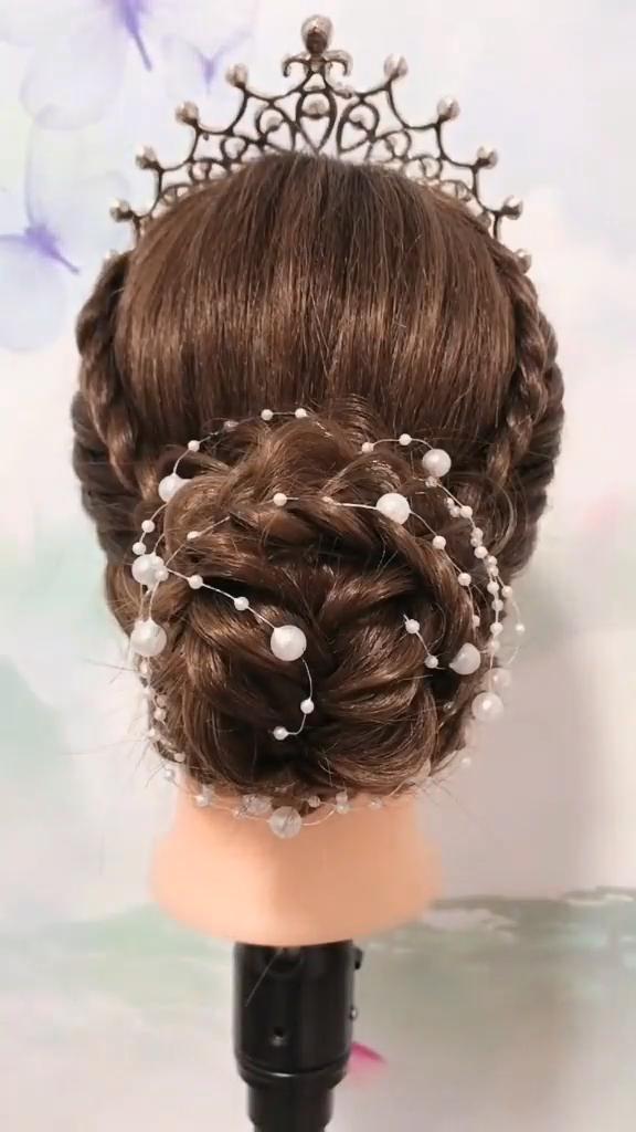 Photo of Hermoso peinado 😍😍