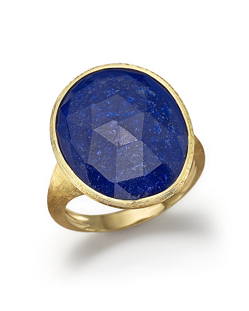 Marco Bicego 18k Small Lapis Ring, Size 7