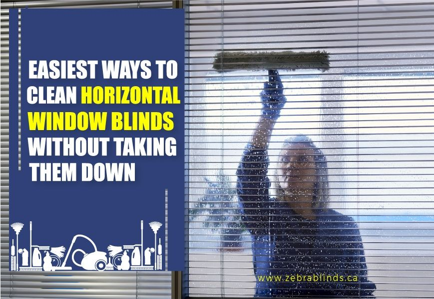 How to clean horizontal window blinds know the easiest