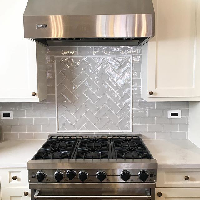 Tile Accent Of 30 Inch Cooktop Google Search In 2019