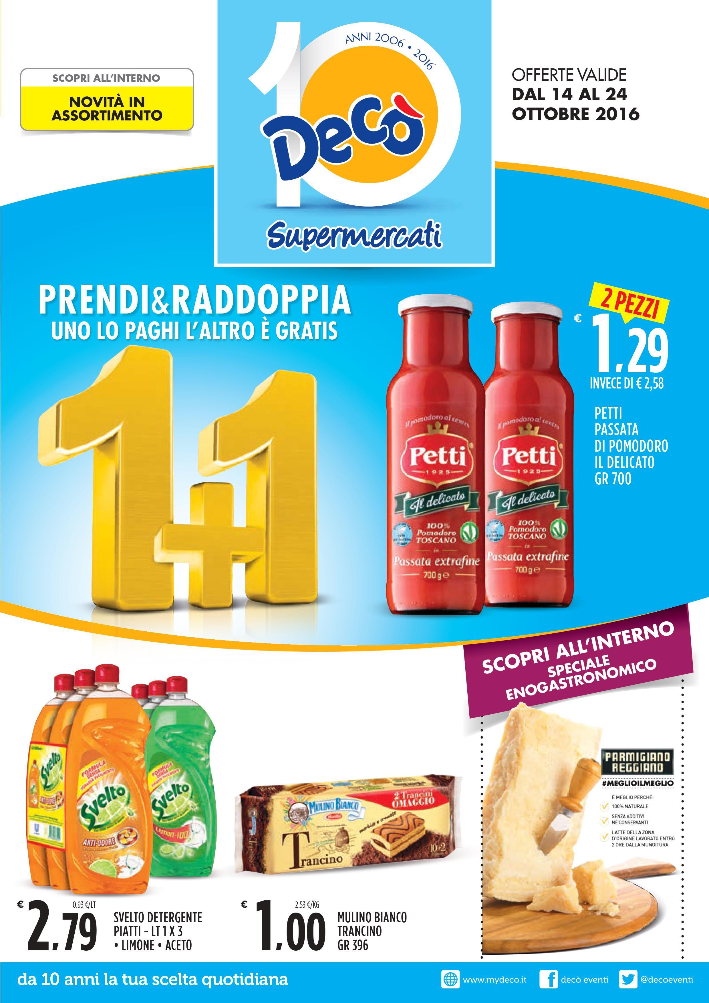 Volantino Supermercati Decò - http://www.volantinoit.com/deco ...